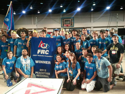 2012 Peachtree Regional Winners